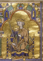 Contemporary depiction from about 1230